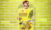 California, American Airlines - Decorative Arts, Prints & Posters,Wall Art Print, Poster , Vintage Travel Poster
